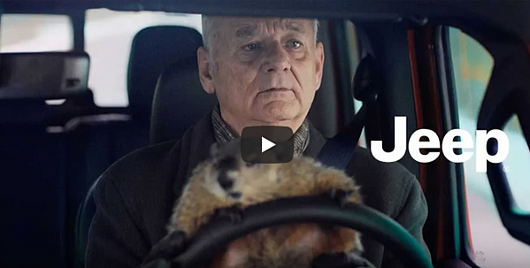 Bill Murray's Super Bowl Jeep commercial