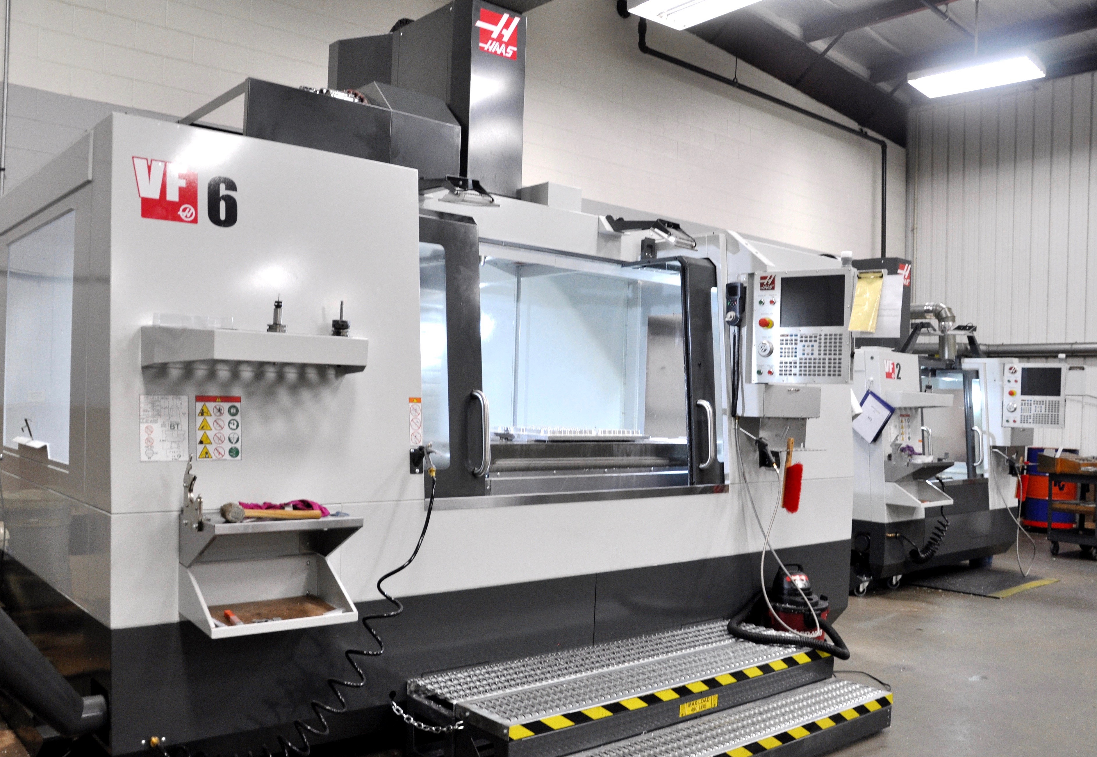 CNC machine for thermoform tooling