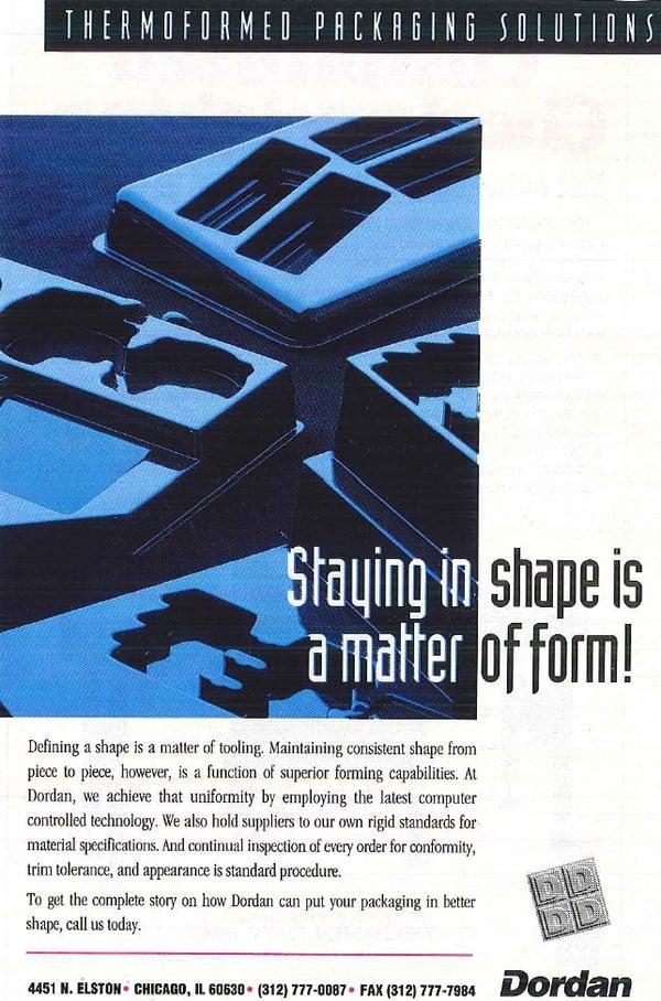 Vintage Dordan ad