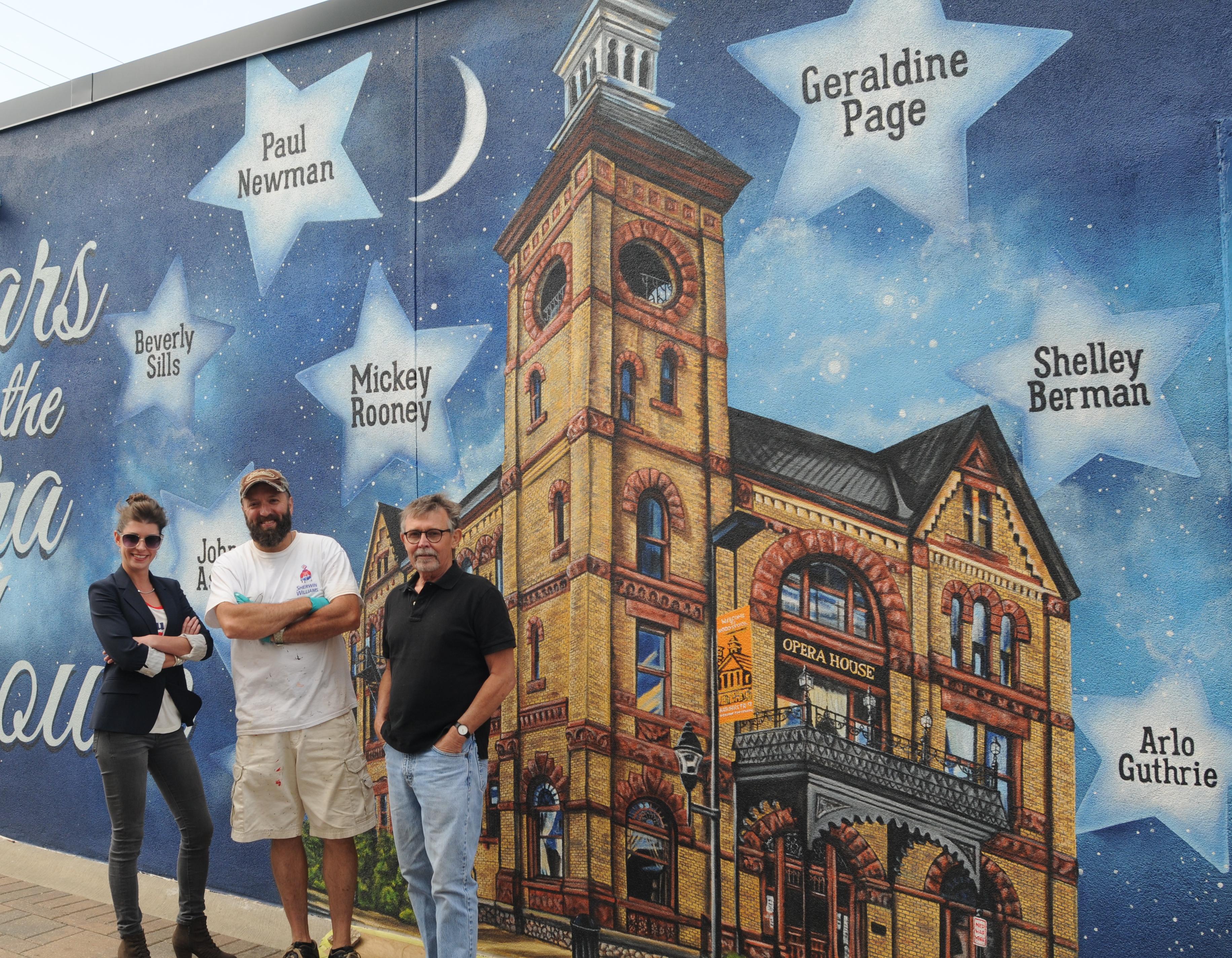 Woodstock Mural
