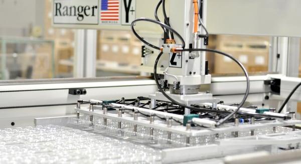 Custom plastics thermoforming with robotics
