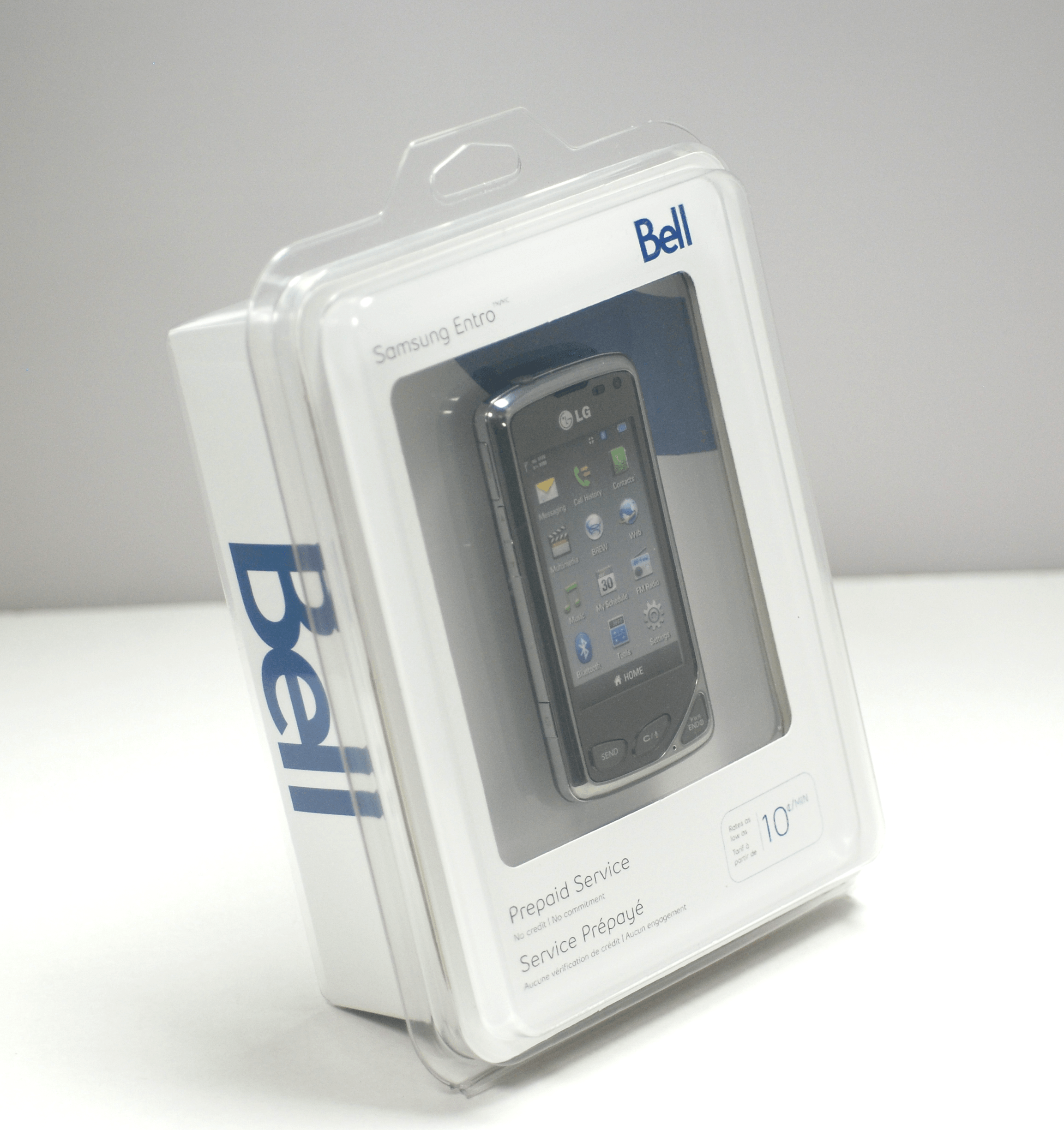 Thermoformed Clamshell