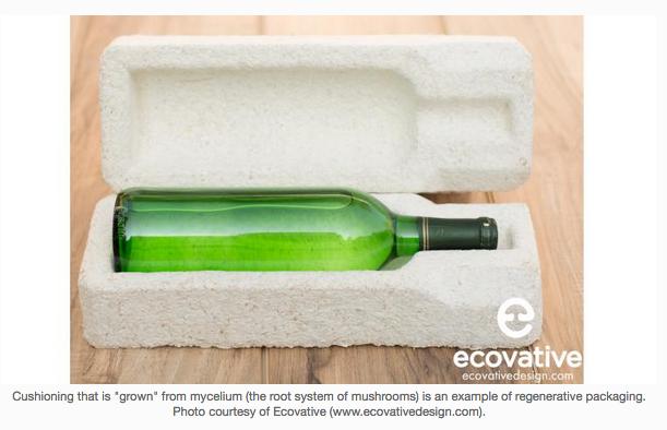regenerative packaging