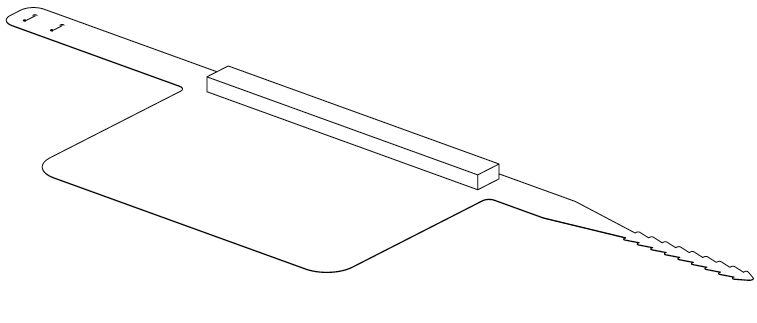 Face shield drawing