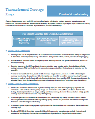 Download Thermoformed Dunnage Tray Benefits