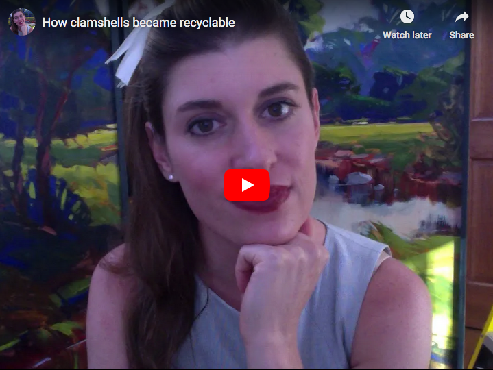 clamshell recycling video