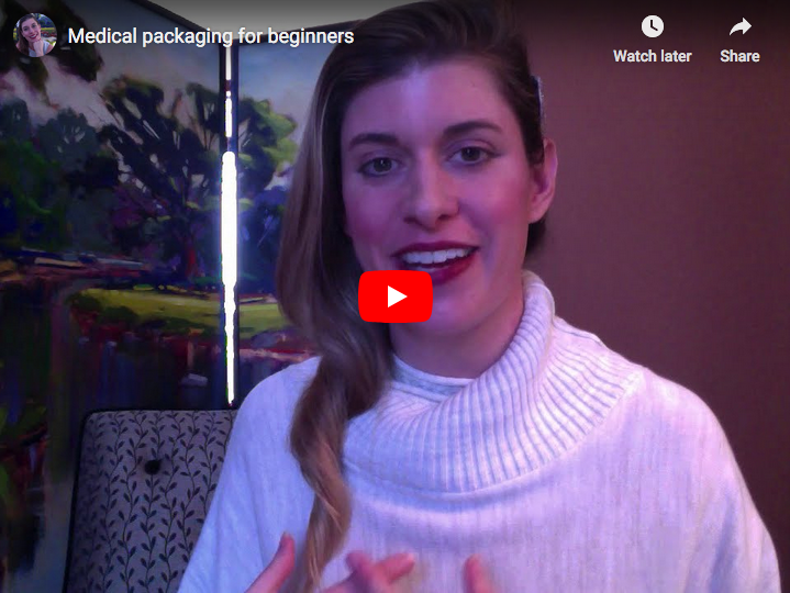 Medical packaging video